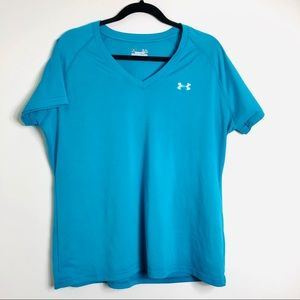 🎈3/$25 Under Armour blue semi fitted tee